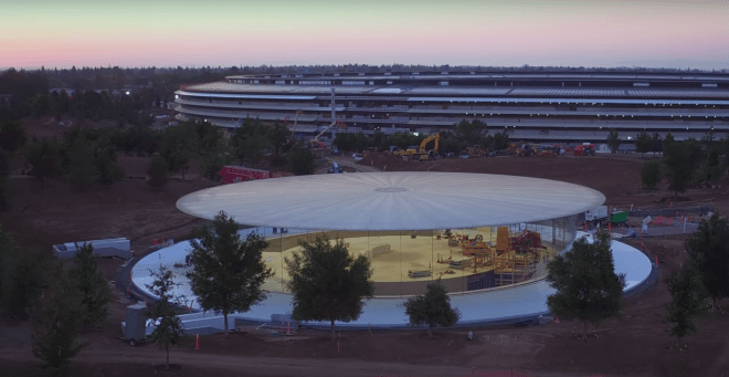 Apple Park, vista aérea