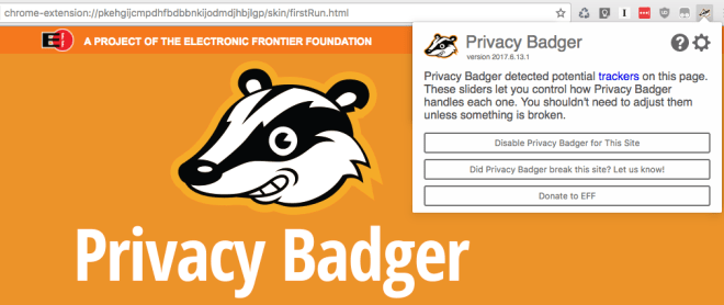 Privacy Badger, protege tu privacidad en internet