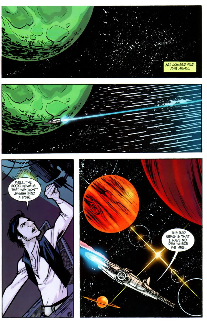 Into The Great Unknown (written by W. Haden Blackman, pencilled by Sean Murphy