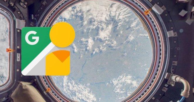 Estación espacial internacional en Street View