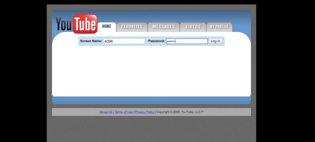 Mira la evolución de YouTube en un video en… YouTube