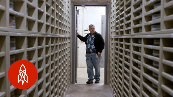 bunker donde se resguarda parte de nuestra historia cinematografica