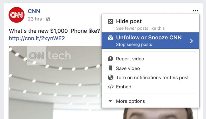 Silenciar gente en Facebook