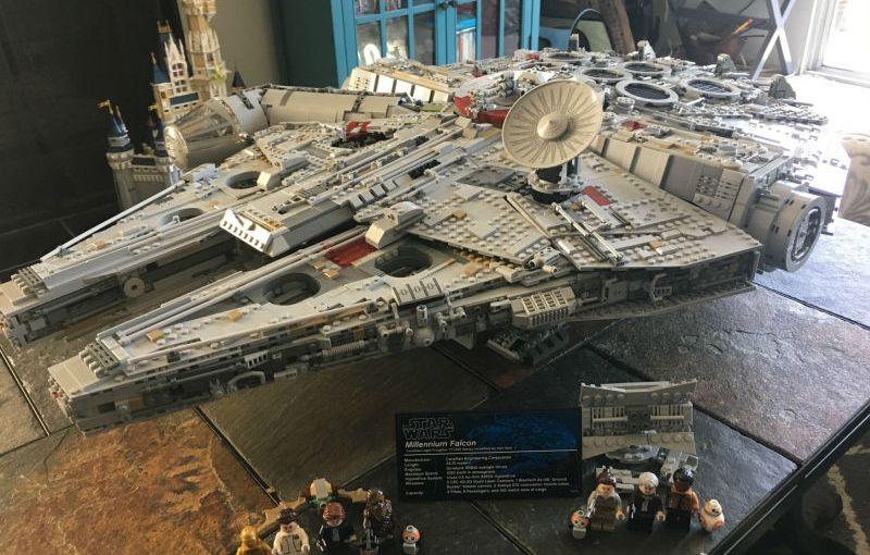 El Halcón Milenario edición coleccionista de Lego
