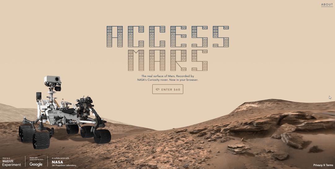 Explora Marte desde tu navegador web con Access Mars, un experimento WebVR