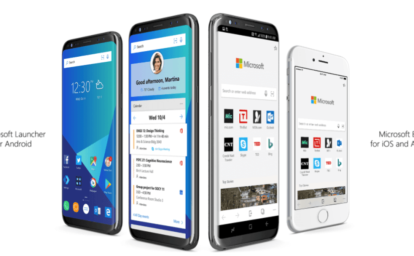 Microsoft Edge Mobile para iOS y Android