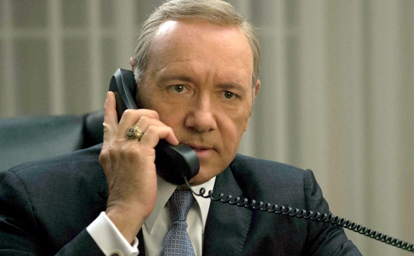 Kevin Spacey finalmente se queda fuera de House of Cards