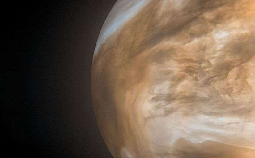Nuevas imágenes de Venus tomadas por la nave espacial Akatsuki