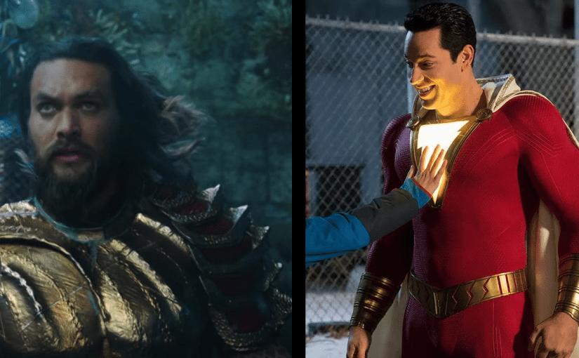 Primeros trailers para Aquaman y Shazam