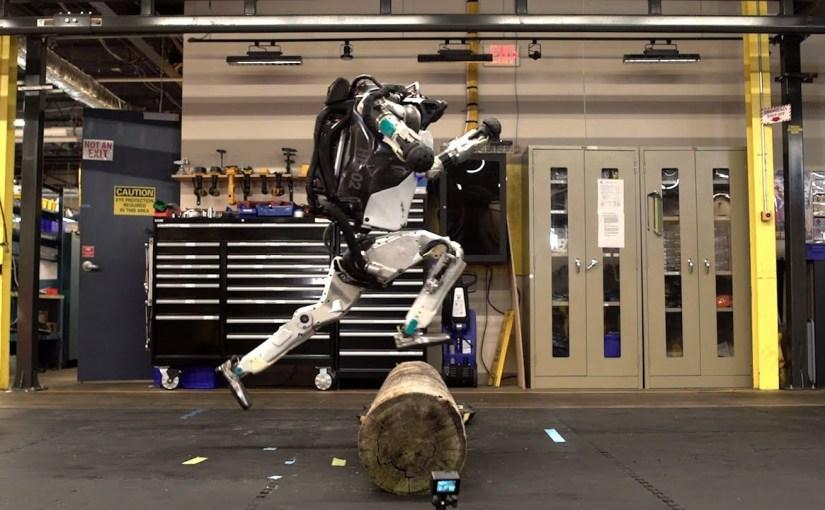 Atlas, el robot de Boston Dynamics ahora hace parkour