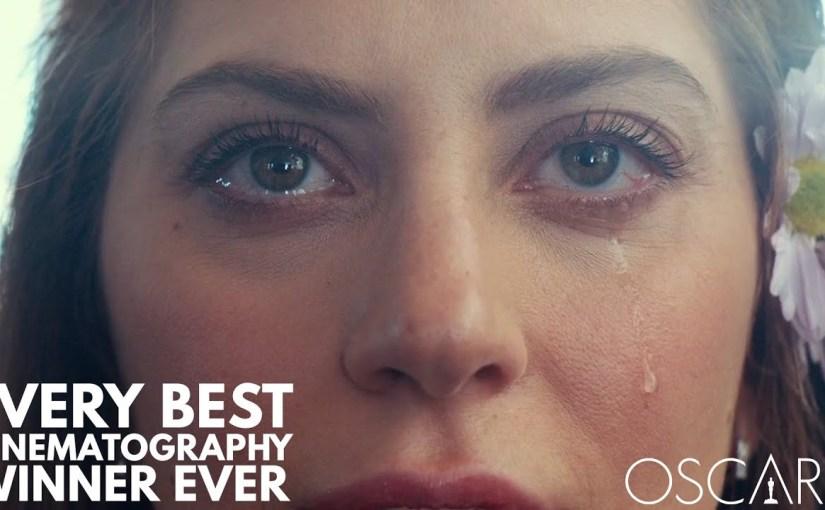 Desde 1929 al 2019, todos los ganadores del Oscar a la mejor cinematografía.