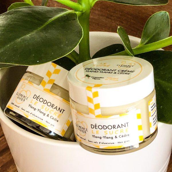 Déodorant Crème Naturel - Le Sucré Clémence et Vivien