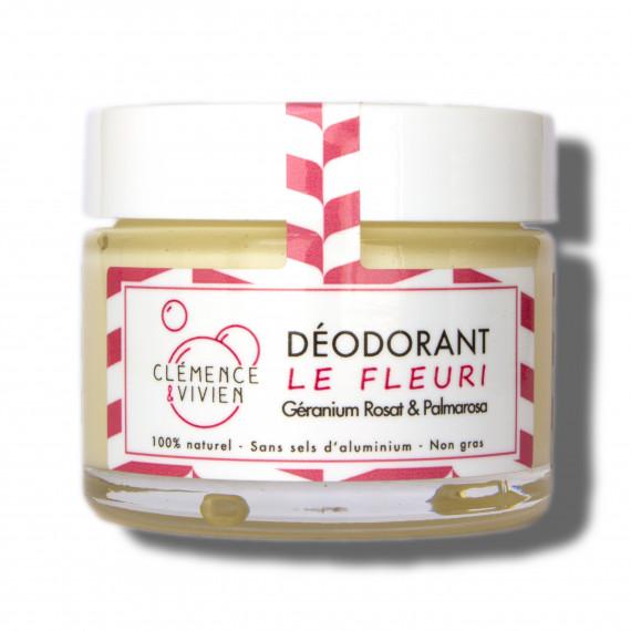Déodorant crème le Fleuri Clémence et vivien
