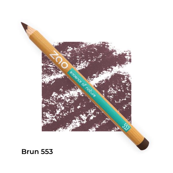 Crayon bio yeux Zao Makeup Brun 553