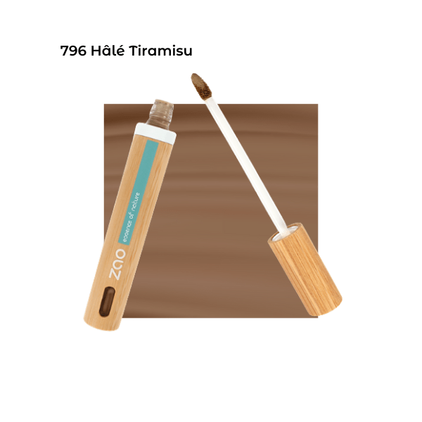 Anticerne Fluide Hâlé Tiramisu 796 - Zao Makeup