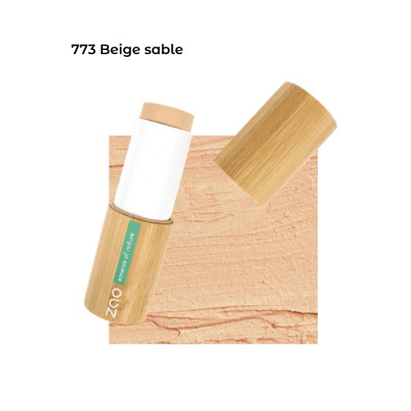 Fond de teint stick Beige Sable 101773 visu - Zao Makeup