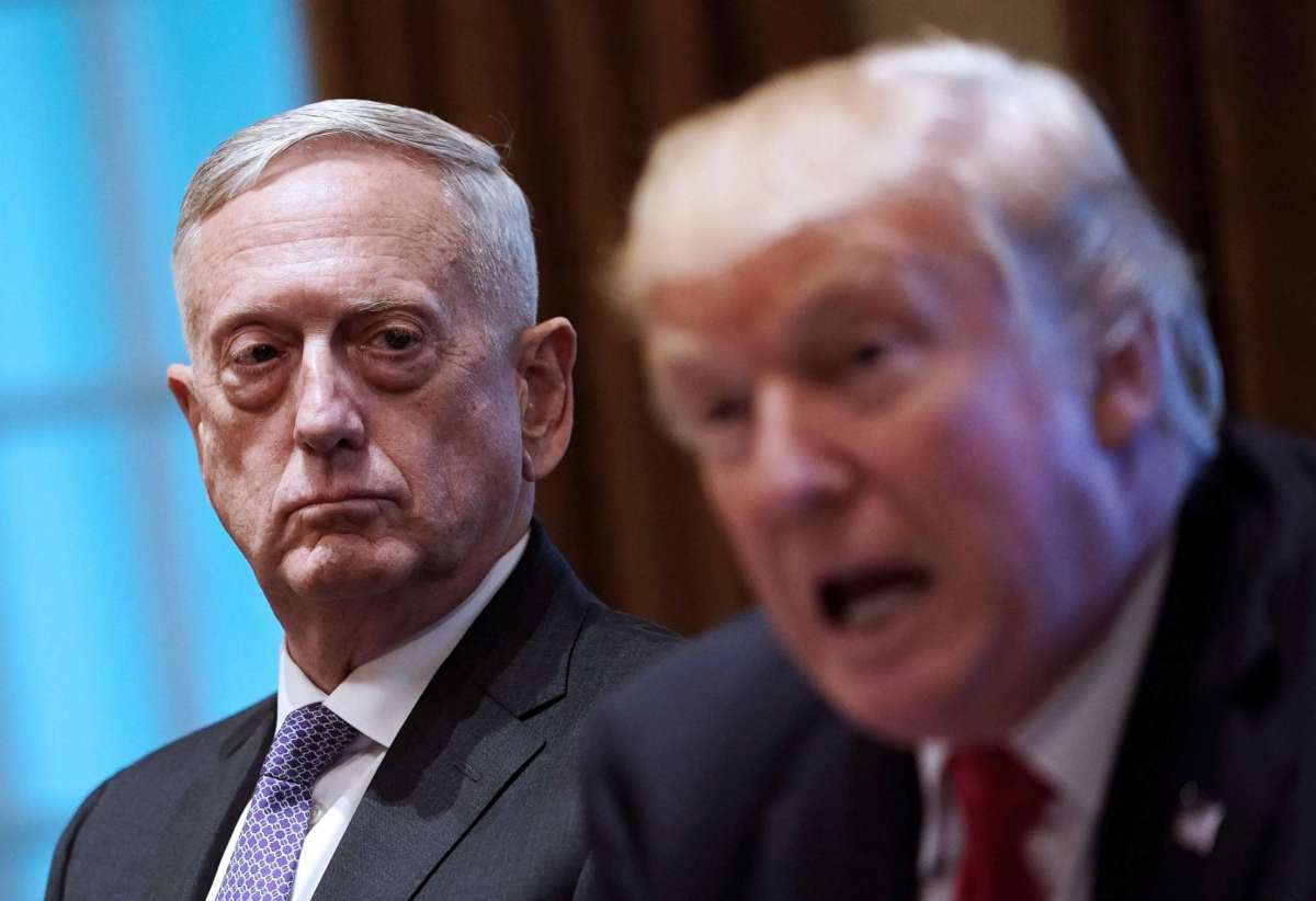 Goodbye to SECDEF Mattis and Hello to Commander-in-Chief Chaos