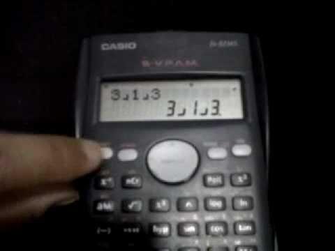 Como sacar un medio en la calculadora