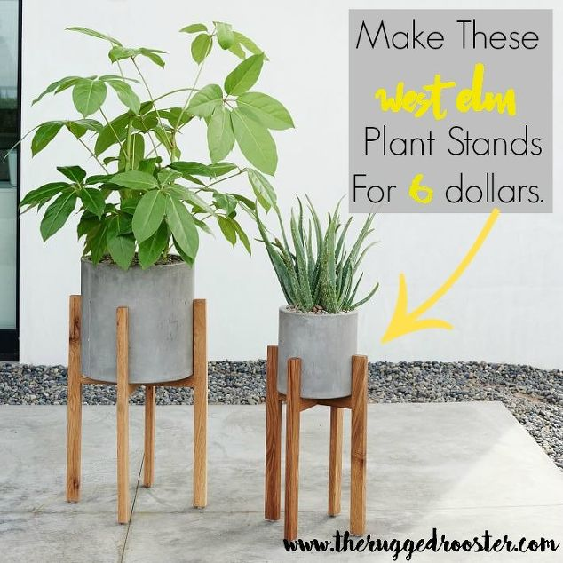 Diy Plant Stands Unrefined Charm