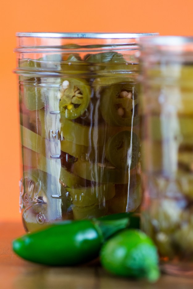 Homemade Pickled Hot Peppers by An Unrefined Vegan