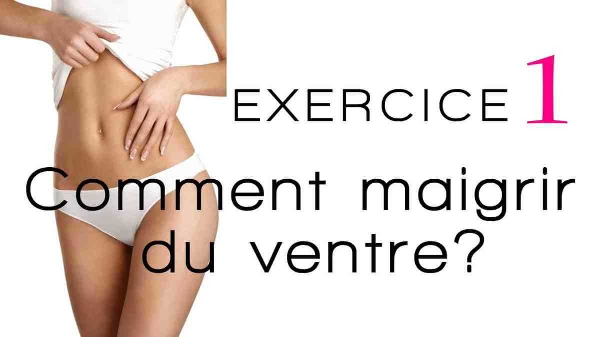 Exercice pour perdre du ventre: une méthode fiable