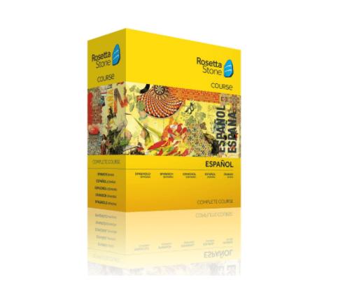 Rosetta Stone Spanish Complete Course