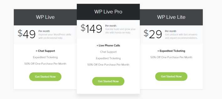 MOJO Marketplace Review WP Live Plans