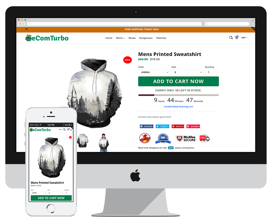Best Converting Shopify Theme