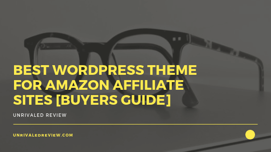 Best WordPress Theme For Amazon Affiliate Site [Buyers Guide]