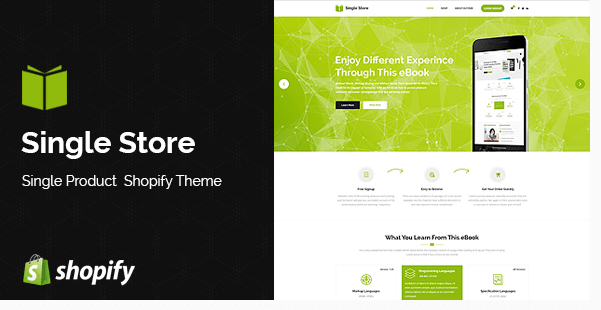 Single Store Shopify Theme