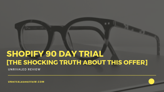 Shopify 90 Day Trial [The Shocking Truth About This Offer]