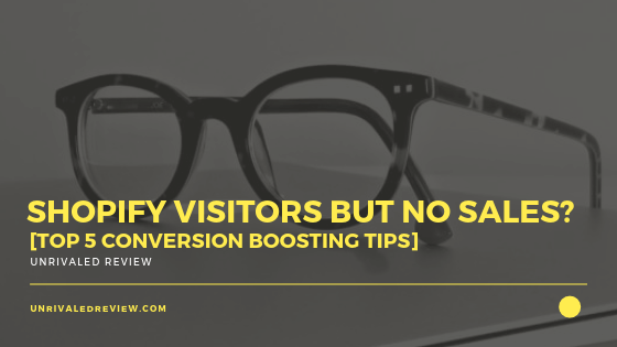 Shopify Visitors But No Sales? [Top 5 Conversion Boosting Tips]