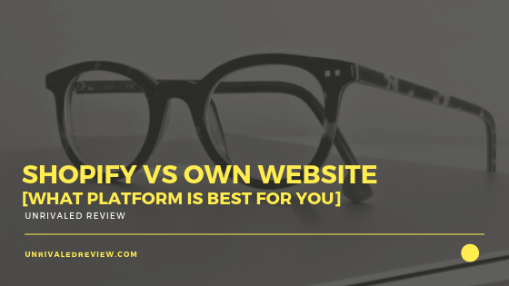 Shopify vs Own Website [What Platform Is Best For You]