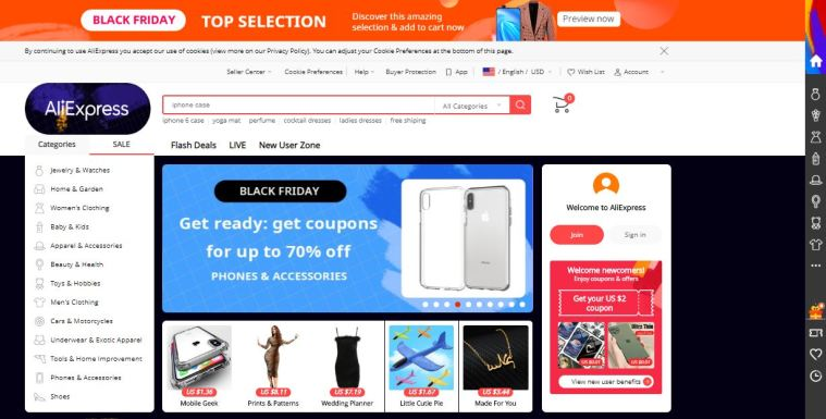 AliExpress Marketplace Platform