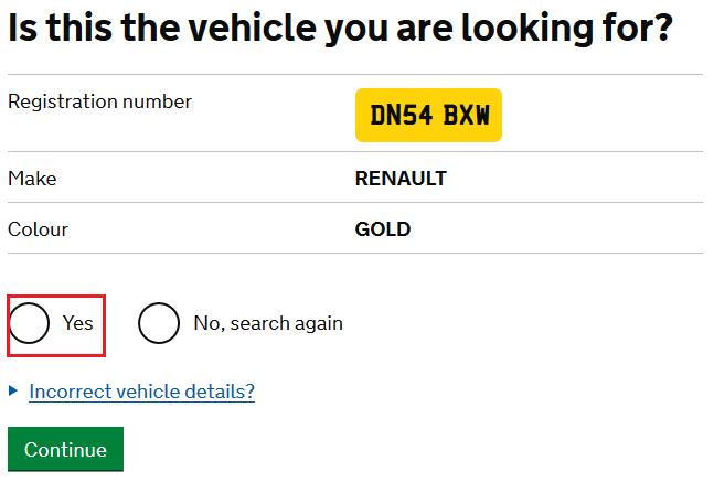 cum verifici asigurarea uk mot si road tax 2