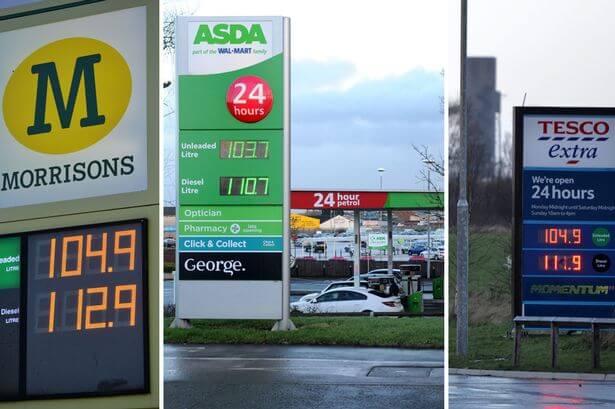 masini anglia pret combustibil benzina diesel