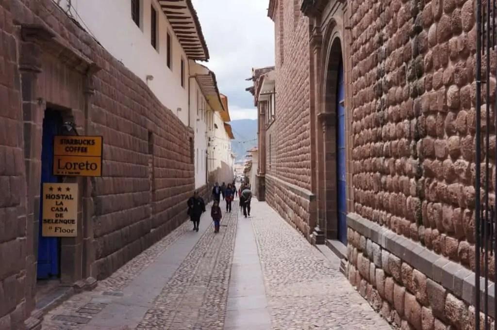 Rue typique