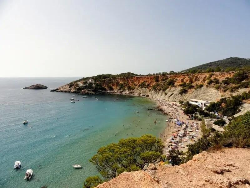 Cala Hort, Ibiza, où nous avons passé une nuit