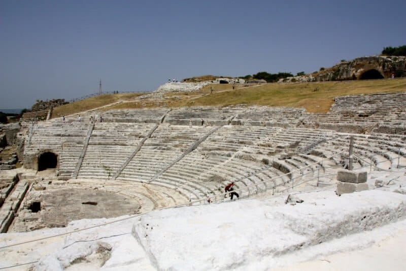 Théâtre grec, Néapolis (Syracuse)