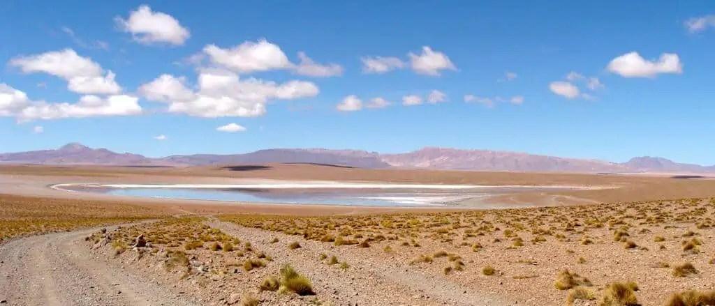 Lagune, désert, Bolivie, Uyuni
