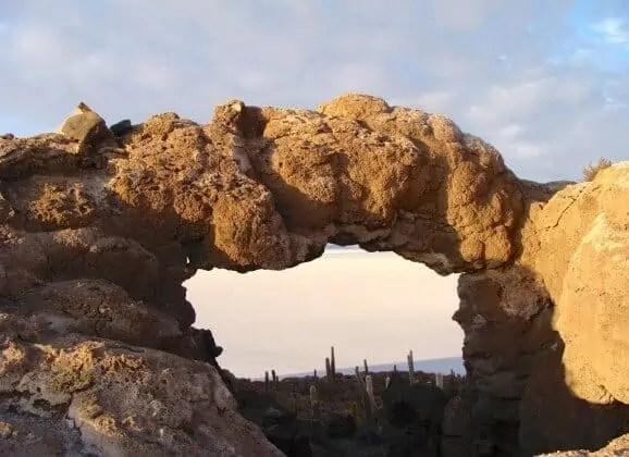 Arc de Pierre, Uyuni, Bolivie