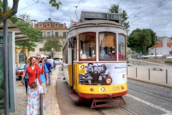 Lisbonne sur rails, tram, funiculaire, élévateurs
