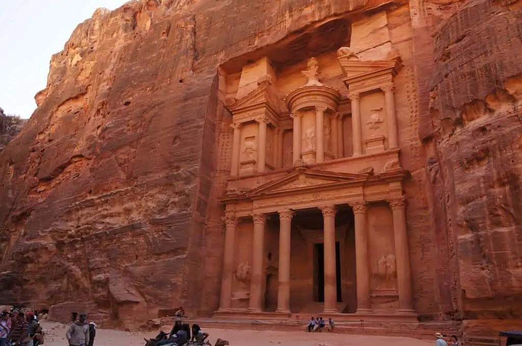 Jordanie, Pétra, Siq, canyon, Al Khazneh