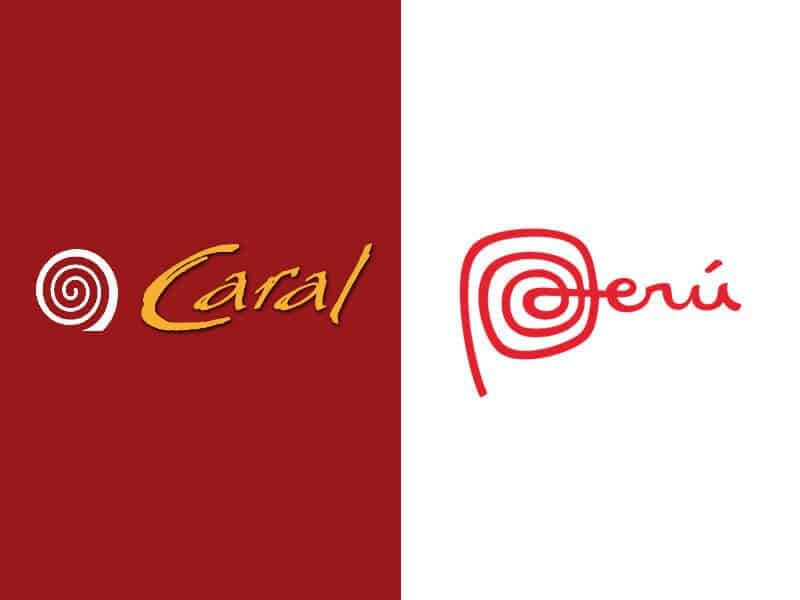 Caral, Pérou, logo, Archéologie