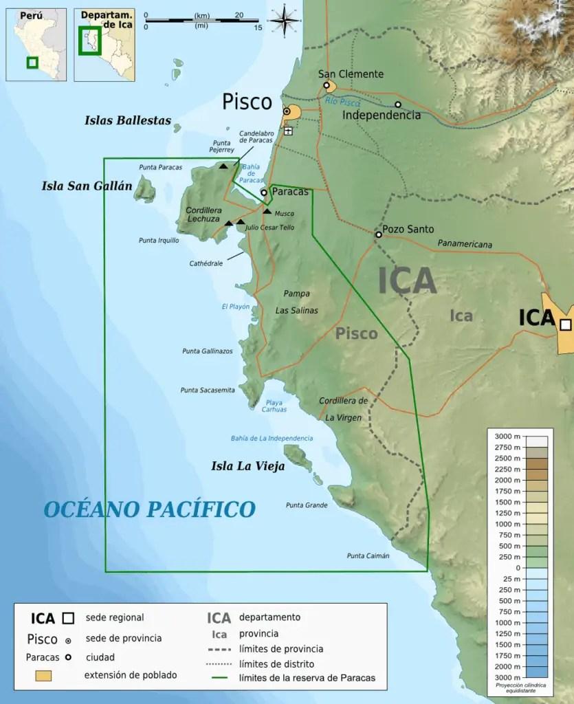 Paracas, Pérou