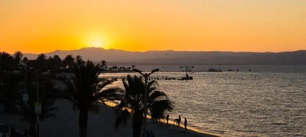 Paracas, Pérou, soleil