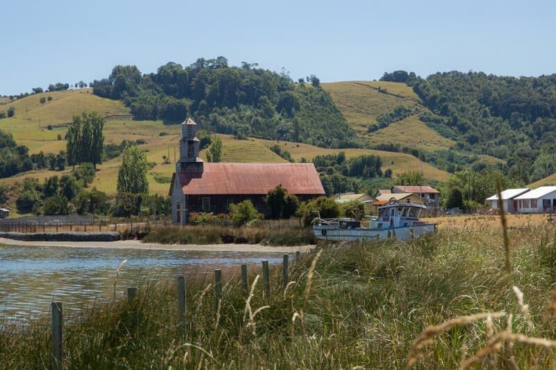 Chiloé, île, Chili