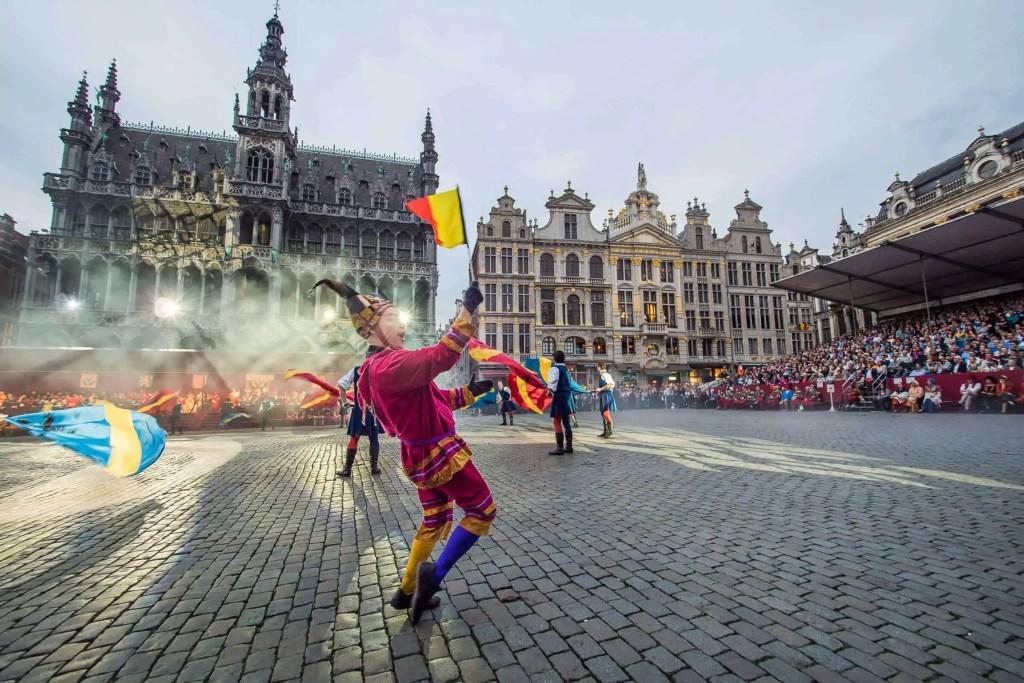 Ommegang, Bruxelles, Belgique,