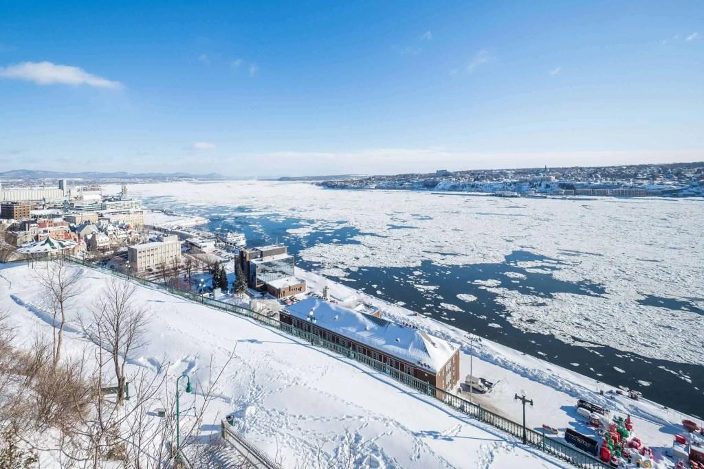Canada, Québec, voyage, hiver