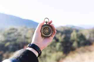 boussole, voyage, psychologie